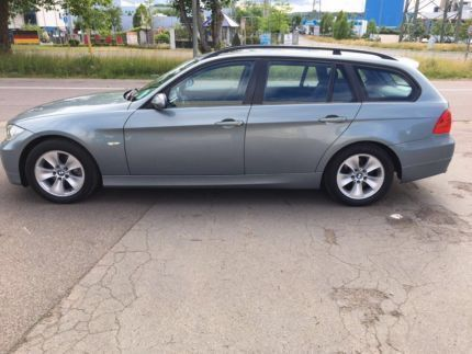 verkauft bmw 320 d dpf touring kombi gebraucht 2007 km in saarlouis. Black Bedroom Furniture Sets. Home Design Ideas