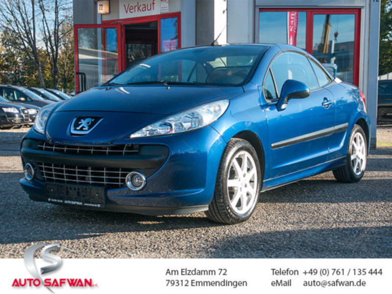 verkauft peugeot 207 cc gebraucht 2008 km in emmendingen. Black Bedroom Furniture Sets. Home Design Ideas