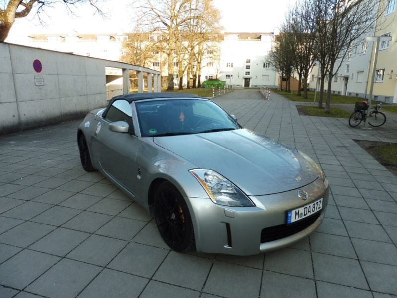 verkauft nissan 350z 350 z roadster pr gebraucht 2005 km in aschaffenburg. Black Bedroom Furniture Sets. Home Design Ideas