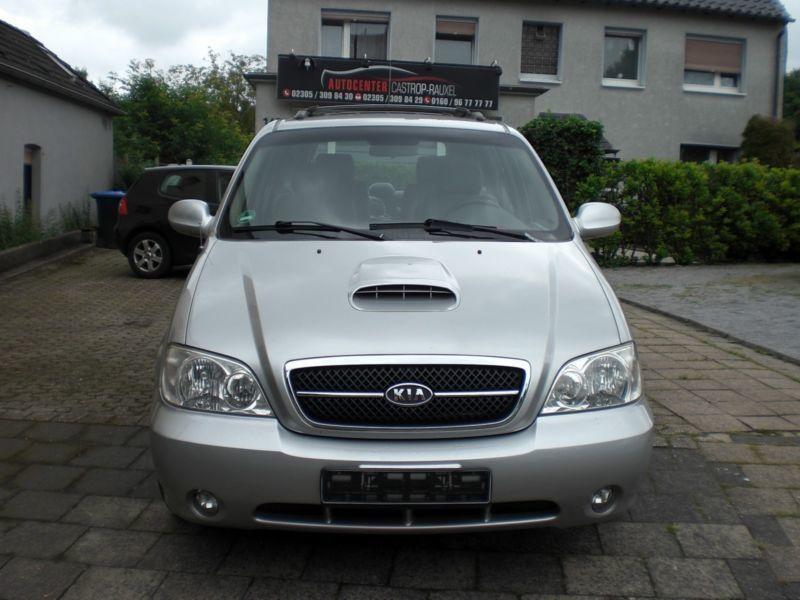 Verkauft Kia Carnival Ii 2 9 Crdi Ex  Gebraucht 2004  107 565 Km In Castrop