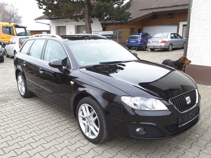 verkauft seat exeo st 2 0 tdi cr style gebraucht 2011 km in vilsheim. Black Bedroom Furniture Sets. Home Design Ideas