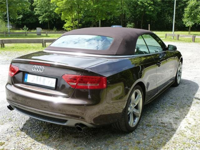 gebraucht 2 0 tfsi multitronic zweite hand leder mmi audi a5 cabriolet 2009 km in. Black Bedroom Furniture Sets. Home Design Ideas
