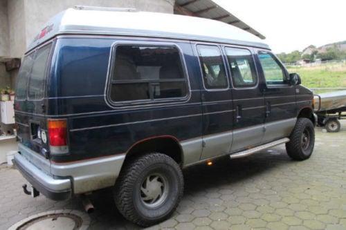 verkauft ford econoline van allrad 4x4 gebraucht 1992 km in vlotho. Black Bedroom Furniture Sets. Home Design Ideas