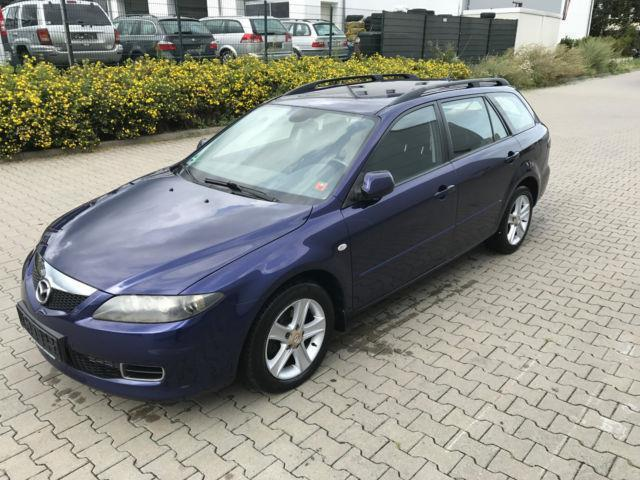 verkauft mazda 6 kombi 2 0 cd sport ex gebraucht 2006 km in wiesbaden. Black Bedroom Furniture Sets. Home Design Ideas