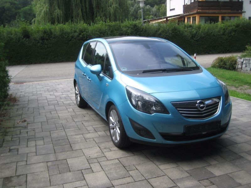 verkauft opel meriva 1 7 cdti innovati gebraucht 2011 km in irlbach. Black Bedroom Furniture Sets. Home Design Ideas