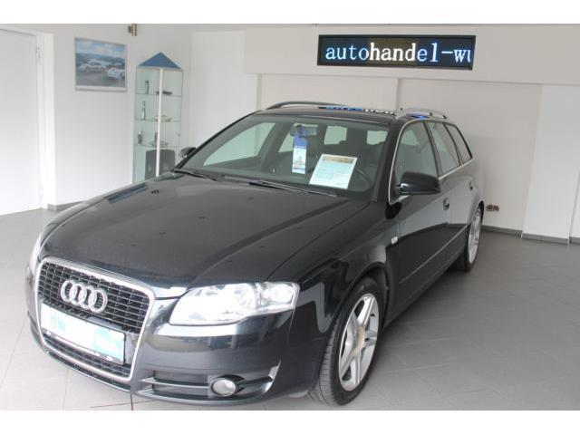 verkauft audi a4 avant 2 0 tdi gebraucht 2008 km in wuppertal. Black Bedroom Furniture Sets. Home Design Ideas