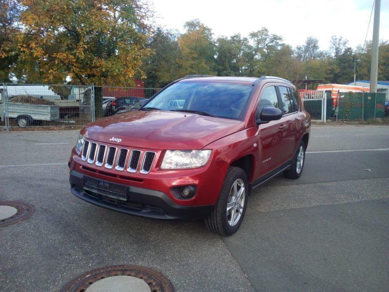 verkauft jeep compass limited 4x4, gebraucht 2012, 126.000 km in