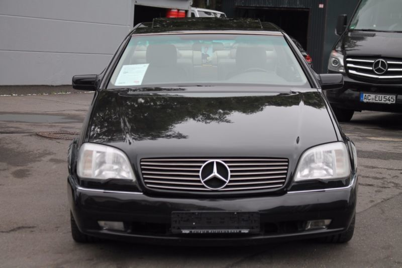 gebraucht v12 s klasse coupe mercedes s600 1996 km in stolberg. Black Bedroom Furniture Sets. Home Design Ideas