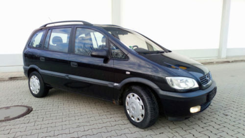 verkauft opel zafira 1 6 7sitzer klim gebraucht 2001. Black Bedroom Furniture Sets. Home Design Ideas