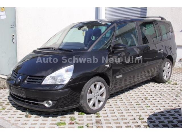 verkauft renault grand espace espace i gebraucht 2007 km in neu ulm. Black Bedroom Furniture Sets. Home Design Ideas