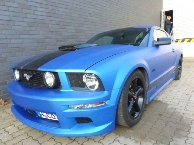 verkauft ford mustang gt v8 mit rush b gebraucht 2006. Black Bedroom Furniture Sets. Home Design Ideas