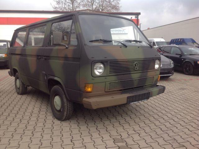 verkauft vw t2 t3 bus ex bundeswehr 1 gebraucht 1988 km in cadolzburg. Black Bedroom Furniture Sets. Home Design Ideas