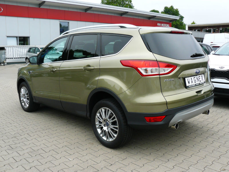 verkauft ford kuga titanium 2 0 tdci 4 gebraucht 2013. Black Bedroom Furniture Sets. Home Design Ideas