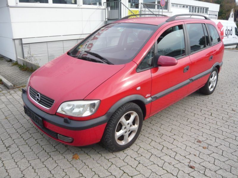 verkauft opel zafira a selection execu gebraucht 2002 km in garching. Black Bedroom Furniture Sets. Home Design Ideas
