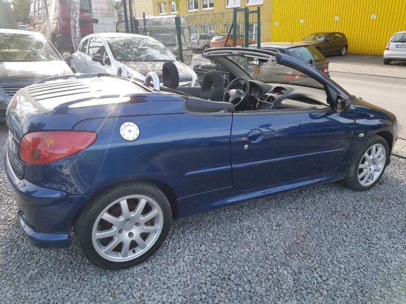 verkauft peugeot 206 cc cabriolet jbl gebraucht 2006 km in essen. Black Bedroom Furniture Sets. Home Design Ideas