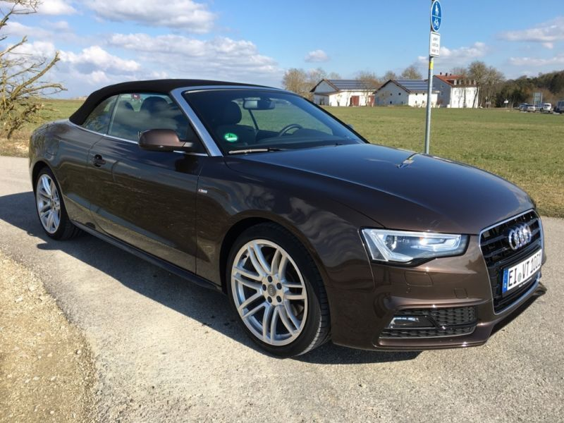 verkauft audi a5 cabriolet a5 cabrio 3 gebraucht 2015 km in siegen. Black Bedroom Furniture Sets. Home Design Ideas