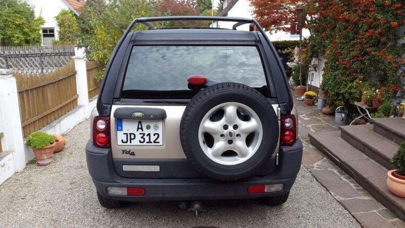 verkauft land rover freelander td4 se gebraucht 2003