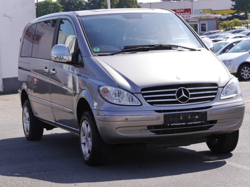 verkauft mercedes viano 115 cdi 4matic gebraucht 2008 km in hamburg. Black Bedroom Furniture Sets. Home Design Ideas