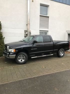 verkauft dodge ram 5 7 hemi ahk 8 fach gebraucht 2003 km in laupheim. Black Bedroom Furniture Sets. Home Design Ideas