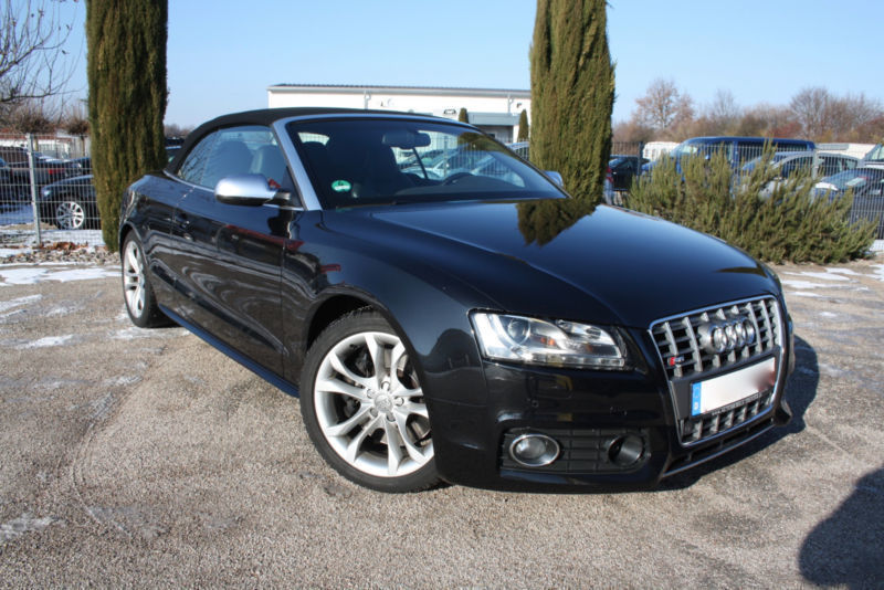 verkauft audi s5 cabriolet gebraucht 2009 km in bad krozingen. Black Bedroom Furniture Sets. Home Design Ideas