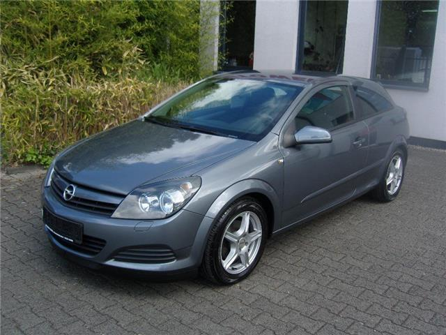 verkauft opel astra gtc gtc 1 4 gebraucht 2005 km in sitzerath. Black Bedroom Furniture Sets. Home Design Ideas