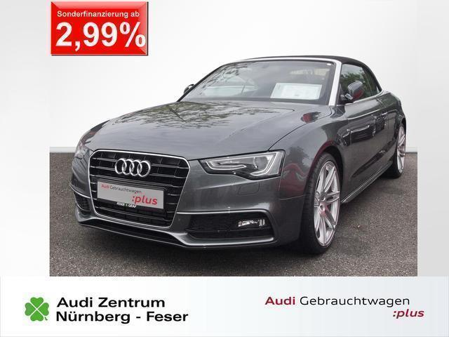 verkauft audi a5 cabriolet s line 2 0 gebraucht 2013. Black Bedroom Furniture Sets. Home Design Ideas