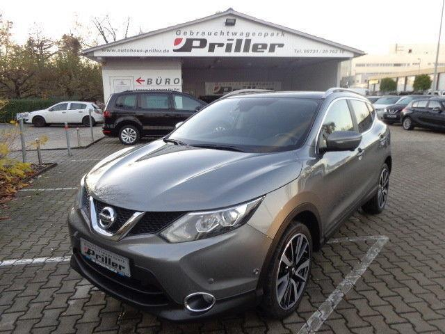 gebraucht 1 6 dci tekna nissan qashqai 2014 km in dingolfing. Black Bedroom Furniture Sets. Home Design Ideas