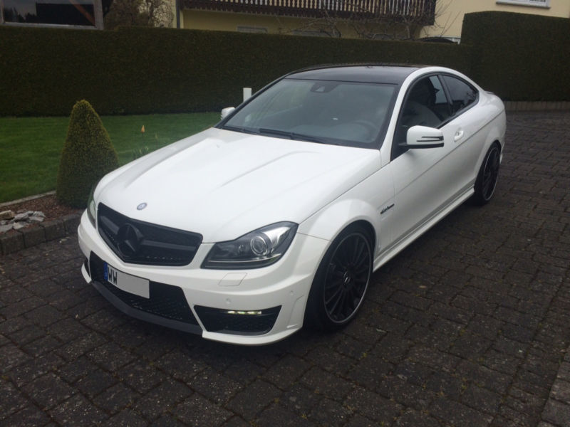 verkauft mercedes c63 amg amg coupe pe gebraucht 2013 km in hachenburg. Black Bedroom Furniture Sets. Home Design Ideas