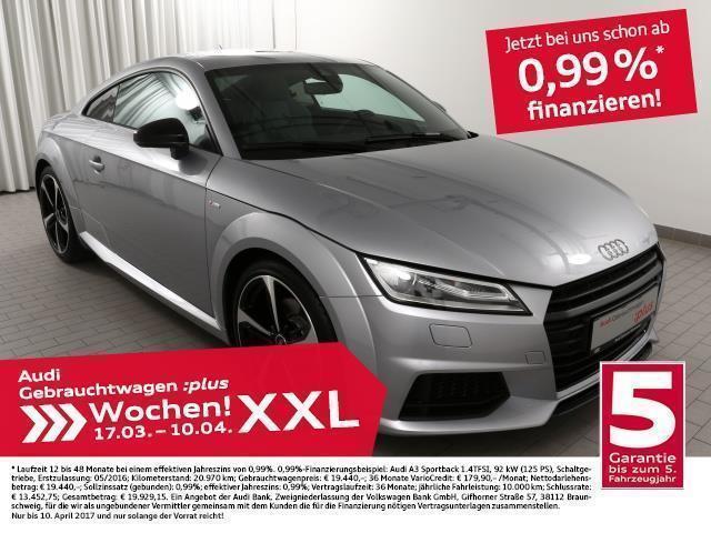 gebraucht Audi TT Coupé 2.0TFSi S line/19Z/S-Sitze/B+O (Xenon Einpar