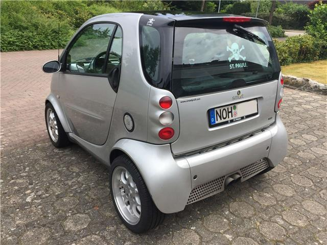 verkauft smart fortwo coup mit brabus gebraucht 2001 km in nordhorn. Black Bedroom Furniture Sets. Home Design Ideas