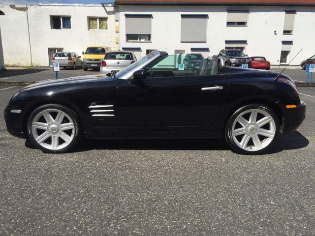 verkauft chrysler crossfire cabrio 3 2 gebraucht 2005. Black Bedroom Furniture Sets. Home Design Ideas