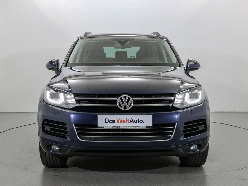 verkauft vw touareg 3 0 v6 tdi bmt bi gebraucht 2013 km in rheine. Black Bedroom Furniture Sets. Home Design Ideas
