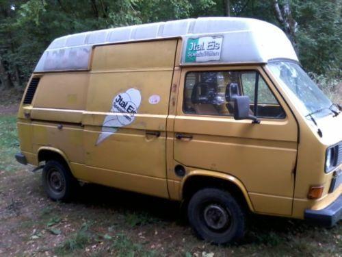 verkauft vw t3 postbus eiswagen gebraucht 1987 km in fahren. Black Bedroom Furniture Sets. Home Design Ideas