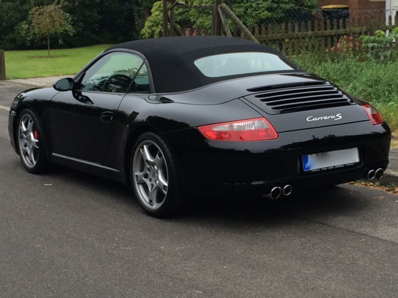 verkauft porsche 997 s gebraucht 2006 km in krefeld. Black Bedroom Furniture Sets. Home Design Ideas