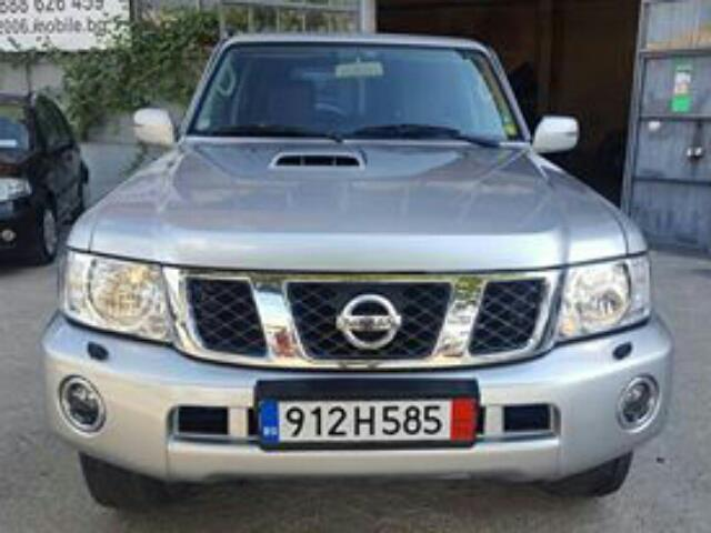verkauft nissan patrol 3 0 di comfort gebraucht 2006 km in pazardjik. Black Bedroom Furniture Sets. Home Design Ideas
