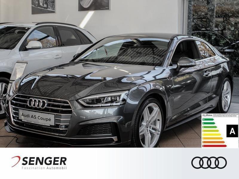 gebraucht Audi A5 Coupé 2.0 TDI S line Navi Tempomat Sitzhzg.