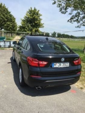 verkauft bmw x4 xdrive20i aut xline gebraucht 2016 km in munchen. Black Bedroom Furniture Sets. Home Design Ideas