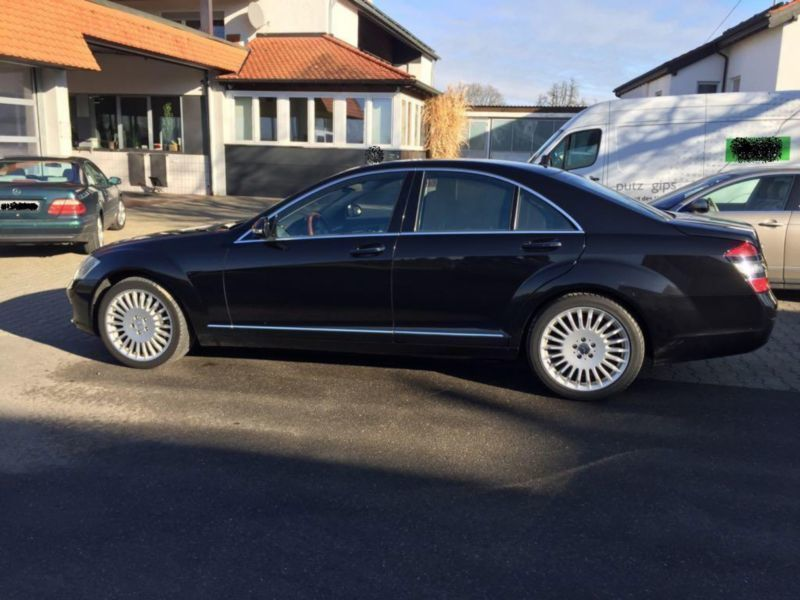 verkauft mercedes s450 s klasse lim gebraucht 2007 km in ravensburg. Black Bedroom Furniture Sets. Home Design Ideas