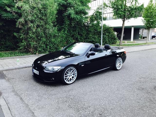 verkauft bmw 335 cabriolet 3er aut gebraucht 2007 km in heilbronn. Black Bedroom Furniture Sets. Home Design Ideas