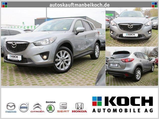 gebraucht Mazda CX-5 2.2 Sports-Line AWD Navi Leder Xenon