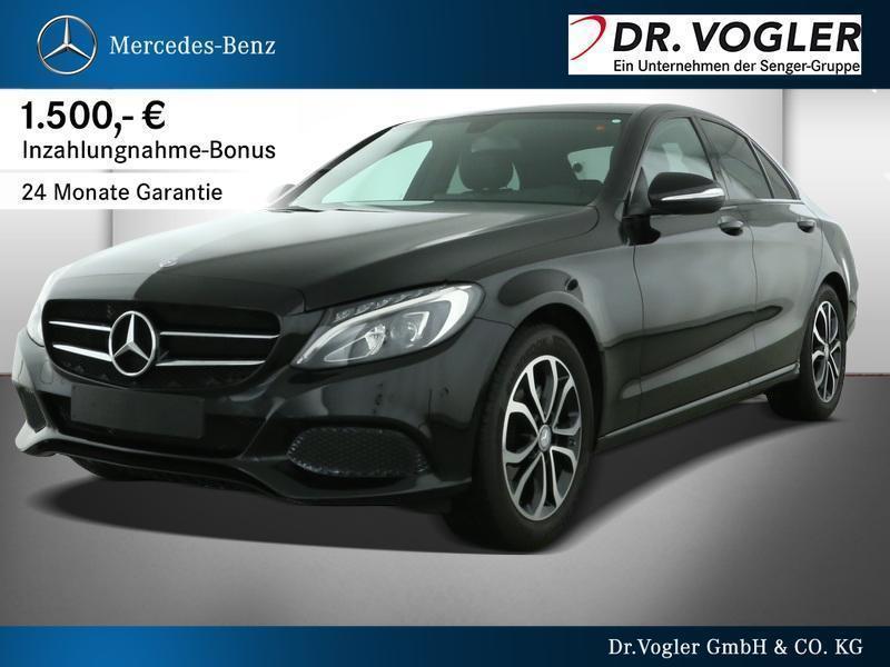 gebraucht Mercedes C220 BlueTEC Limousine Avantgarde Avantgarde Park-Assis