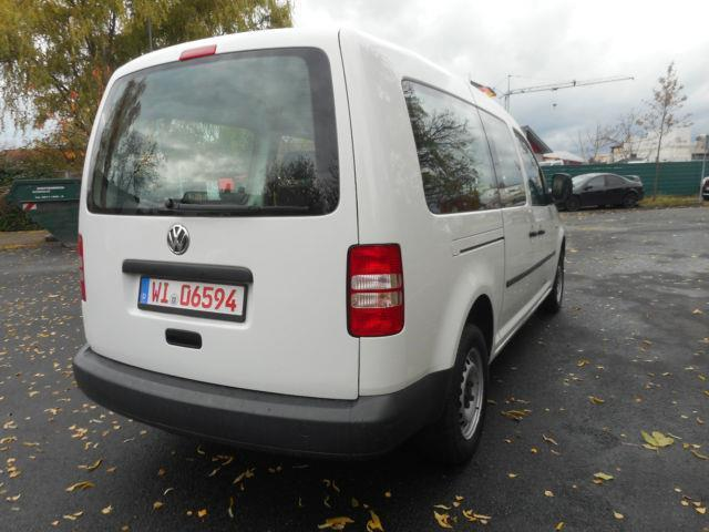 verkauft vw caddy 1 6 tdi 5 si maxi gebraucht 2013 km in mainz kostheim. Black Bedroom Furniture Sets. Home Design Ideas