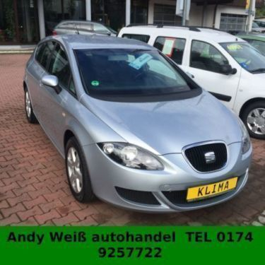 verkauft seat leon 1 6 stylance gebraucht 2006 km in gelnhausen. Black Bedroom Furniture Sets. Home Design Ideas