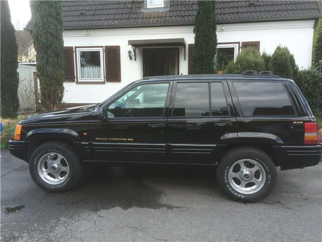 verkauft jeep grand cherokee 5 2 limit gebraucht 1996 km in dortmund. Black Bedroom Furniture Sets. Home Design Ideas