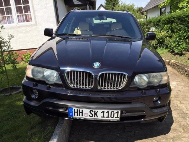 verkauft bmw x5 4 6 is gebraucht 2003 km in hamburg. Black Bedroom Furniture Sets. Home Design Ideas