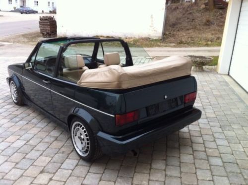 verkauft vw golf cabriolet gebraucht 1991 km in. Black Bedroom Furniture Sets. Home Design Ideas