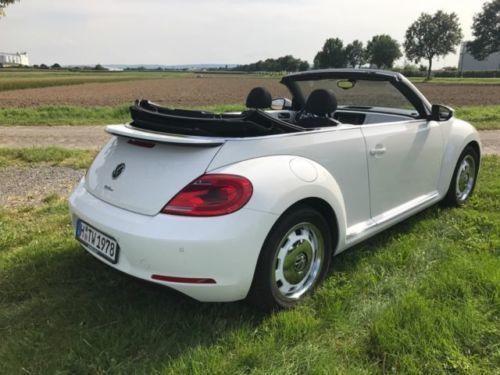 verkauft vw beetle cabrio 50s edition gebraucht 2013 km in halle. Black Bedroom Furniture Sets. Home Design Ideas
