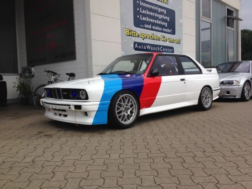 verkauft bmw m3 e30 rennwagen gebraucht 1989 km. Black Bedroom Furniture Sets. Home Design Ideas