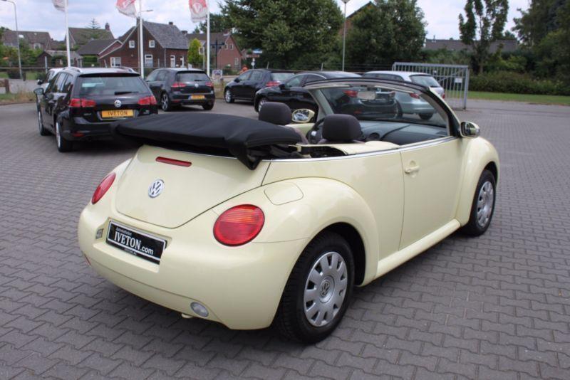 verkauft vw beetle newcabriolet 1 4 si gebraucht 2003 km in weeze. Black Bedroom Furniture Sets. Home Design Ideas