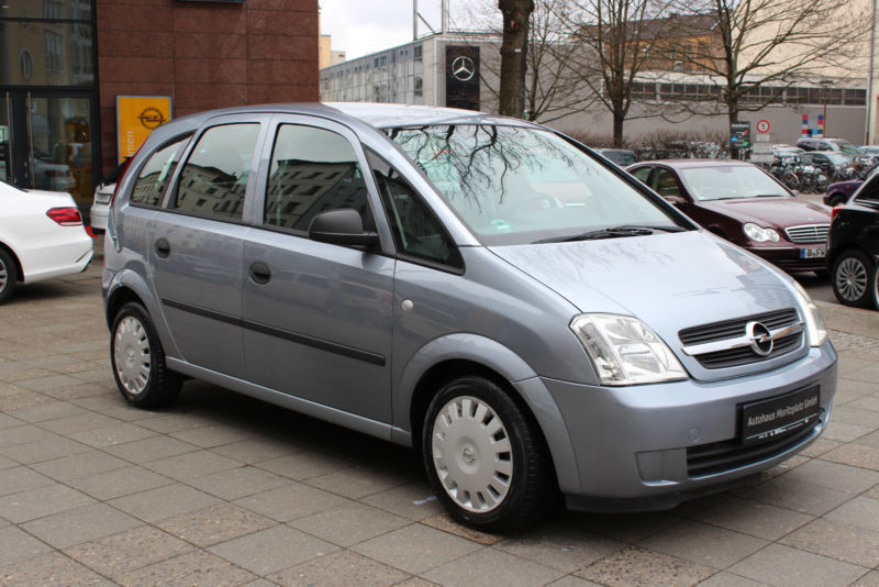 verkauft opel meriva 1 7 cdti 1 hd k gebraucht 2004 km in berlin. Black Bedroom Furniture Sets. Home Design Ideas